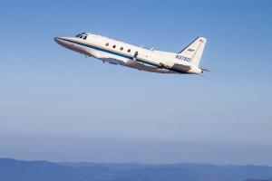 Sabreliner Flight over Mojave, Flight Research International, 24
